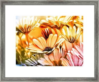 Flowers Artwork Framed Print by Lutz Baar