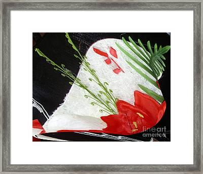 Flowers Framed Print by Gabriele Mueller