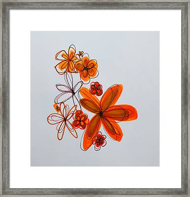 Flowers IIII Framed Print by Patricia Awapara