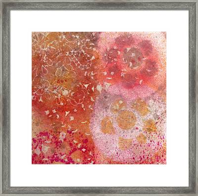 Flowers Framed Print by Janelle Schneider