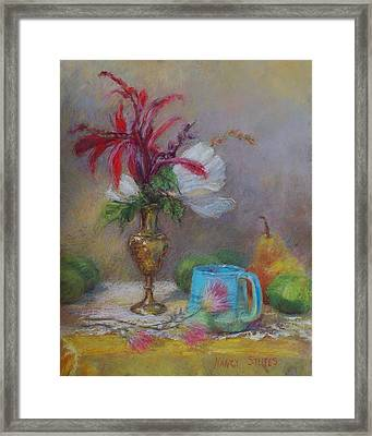 Flowers  Framed Print by Nancy Stutes