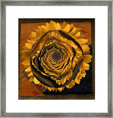 Flowersun - 09279ff223a01222 Framed Print by Variance Collections