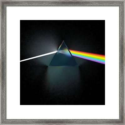 Floyd In 3d Simulation Framed Print by Meir Ezrachi