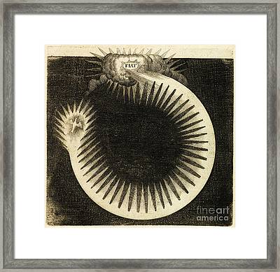 Fludds Creation Theory 1617 Framed Print by Getty Research Institute
