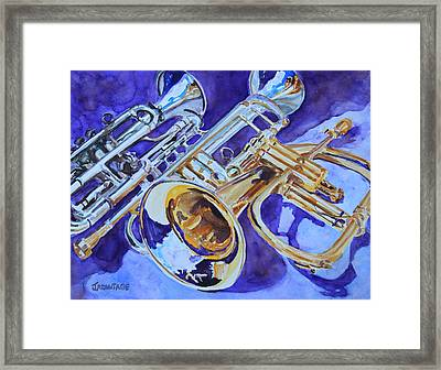 Flugel And Friends Framed Print by Jenny Armitage