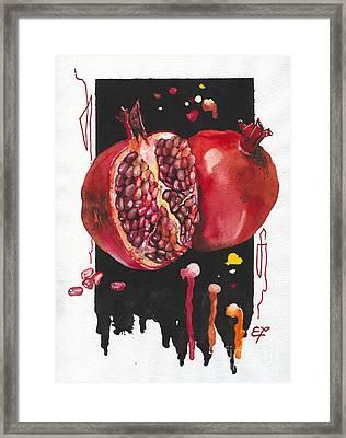 Fluidity 8 - Elena Yakubovich Framed Print by Elena Yakubovich