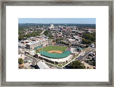 Fluor Field At The West End Greenville Framed Print by Bill Cobb