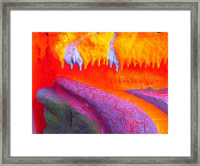 Fluorescent Fun Framed Print by Mike Podhorzer