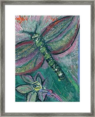 Fly Away With Me Framed Print by Anne-Elizabeth Whiteway