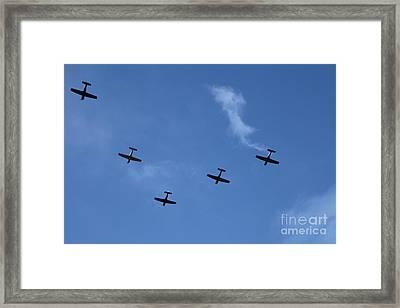 Fly Bye Framed Print by Graham Foulkes