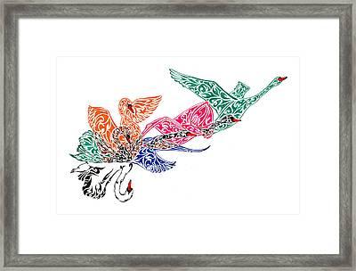Fly High Framed Print by Anushree Santhosh