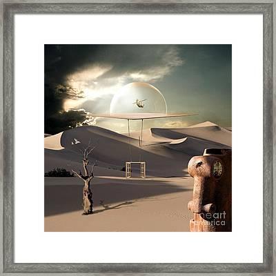 Fly Like An Eagle Framed Print by Franziskus Pfleghart