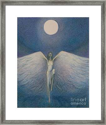 Fly Me To The Moon Framed Print by Chiyuky Itoga