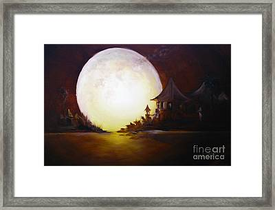 Fly Me To The Moon Framed Print by David Kacey