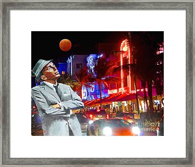 Fly Me To The Moon Framed Print by Judy Kay
