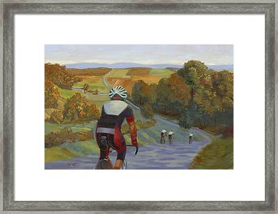 Fly Ride Framed Print by Tommy Thompson