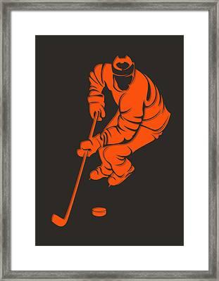 Flyers Shadow Player3 Framed Print by Joe Hamilton