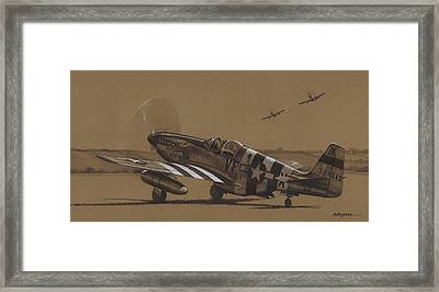 Flying Dutchman Framed Print by Wade Meyers