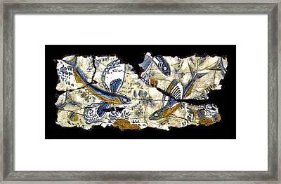 Flying Fish No. 3 Framed Print by Steve Bogdanoff