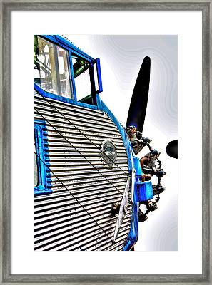 Flying Ford Framed Print by Chas Burnam