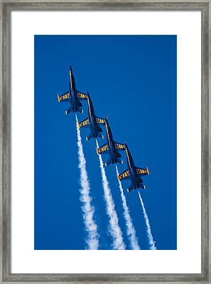 Flying High Framed Print by Adam Romanowicz