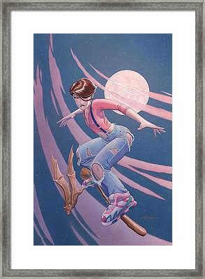 Flying High Framed Print by Richard Moore