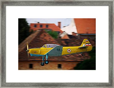 Flying Low Framed Print by Ivan Slosar
