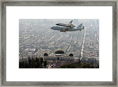 Flying Over Observatory Framed Print by Ben Wa