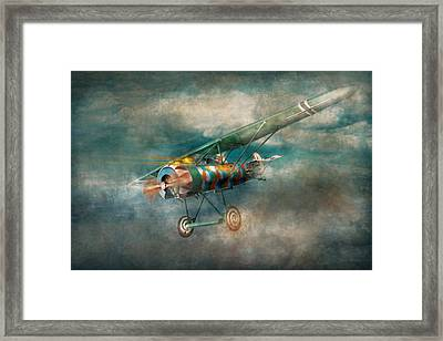 Flying Pig - Acts Of A Pig Framed Print by Mike Savad