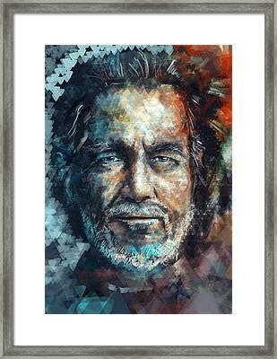Flynn Framed Print by Balazs Pakozdi