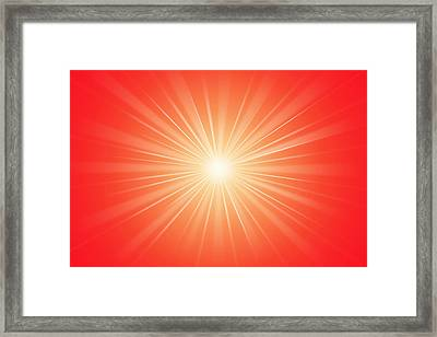 Focus For Meditation 2 Framed Print by Philip Ralley