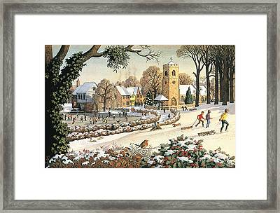 Focus On Christmas Time Framed Print by Ronald Lampitt