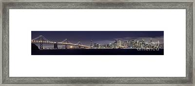 Fog City San Francisco Framed Print by Mike Reid