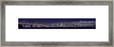 Fog City San Francisco2 Framed Print by Mike Reid