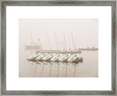 Fogged In Again Framed Print by Bob Orsillo