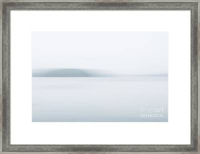 Foggy Bay 2 Framed Print by Susan Cole Kelly Impressions