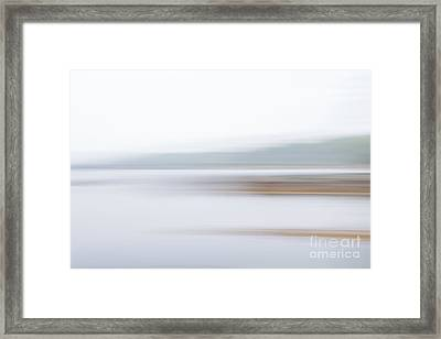 Foggy Bay 3 Framed Print by Susan Cole Kelly Impressions
