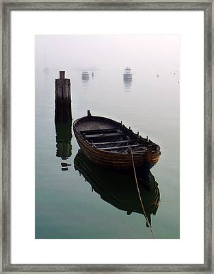 Foggy Morning Framed Print by Janice Drew