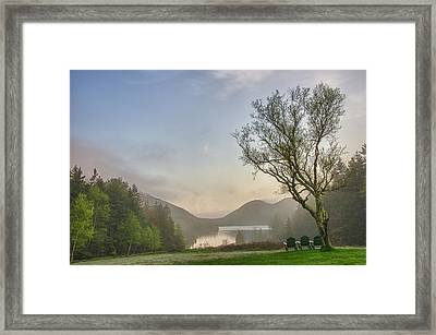 Foggy Starts Framed Print by Kristopher Schoenleber