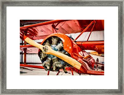 Fokker Dr.1 Framed Print by Inge Johnsson