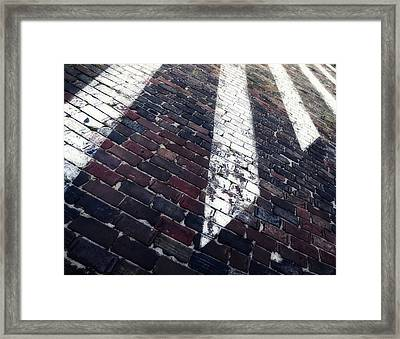 Follow Me - Abstract Photography By Sharon Cummings Framed Print by Sharon Cummings