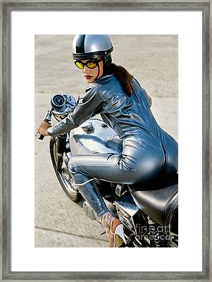 Follow Me If You Can Framed Print by Frank Kletschkus