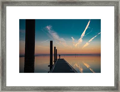 Framed Print featuring the photograph Follow Me by Thierry Bouriat