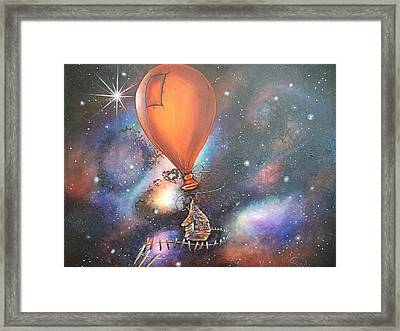 Follow That Star Framed Print by Krystyna Spink