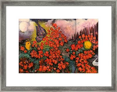 Follow Your Bliss Framed Print by Shakti Brien