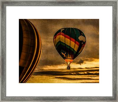 Following Amazing Grace Framed Print by Bob Orsillo