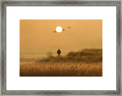 Following Ones Dreams Framed Print by Adrian Campfield