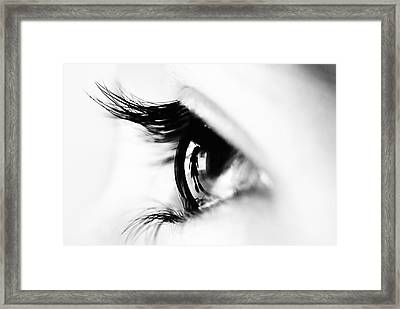 Following You Framed Print by Naufal