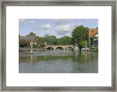 Folly Bridge Framed Print by Tony Murtagh