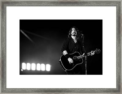 Foo Fighters Framed Print by Ben James